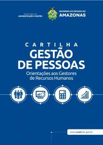 """CARTILHA """"GESTÃO DE PESSOAS – ORIENTAÇÕES AOS GESTORES DE RECURSOS HUMANOS"""""""