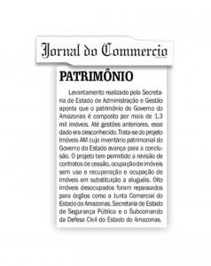 Jornal do Commercio divulga levantamento dos imóveis do Governo realizado pela Sead