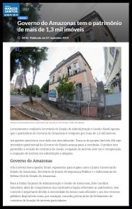 Portal do Marcos Santos – Governo do Amazonas tem patrimônio de mais de 1,3 mil imóveis
