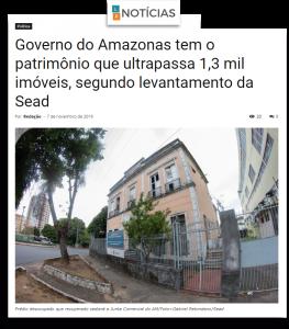 Portal LR Notícias – Governo do Amazonas tem patrimônio que ultrapassa 1,3 mil imóveis, segundo levantamento da Sead