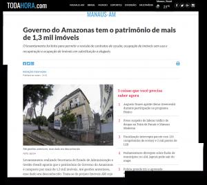 Portal Toda Hora – Governo do Amazonas tem o patrimônio de mais de 1,3 mil imóveis