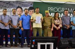 Na abertura do 'Muda Manaus', Wilson Lima anuncia convocação de 796 bombeiros médicos