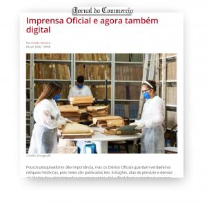 Jornal do Commercio – Impressa Oficial e agora também digital