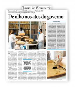 Jornal do Commercio – De Olho nos atos do governo