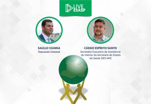 LIVE SEAD – 15 de abril– Covid no interior do Amazonas será tema de Liveda Sead nesta quinta-feira