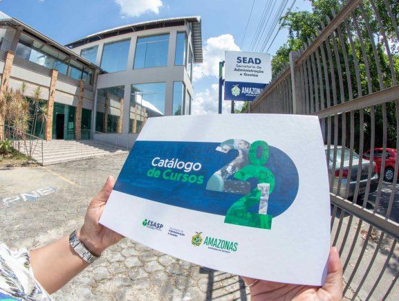Governo do Amazonas lança Catálogo de Cursos 2021 da Escola de Gestão e Aperfeiçoamento do Servidor Público